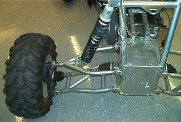 Rear Suspension for GT Off Road Vehicle