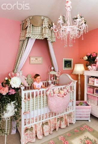 Plaid bed teester ideas para el hogar pinterest for Above crib decoration ideas