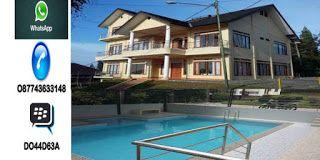 Villa Keluarga Di Lembang Model Minimalis - Private Poll harga murah