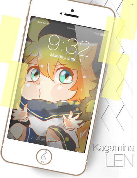Kagamine Len from Vocaloid now available for Keychain or Phone Strap Pre Order ^q^ my draw recently , and the other will coming soon.