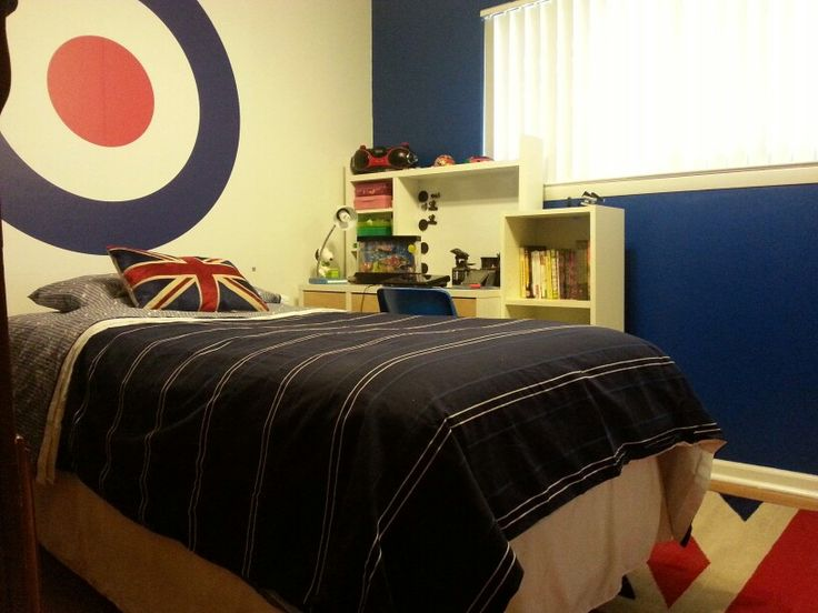 19 best images about ideas for boys bedroom on pinterest for Union jack bedroom ideas