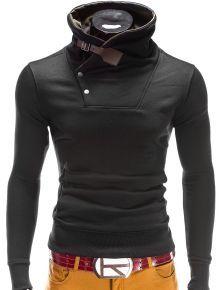 Bluzy męskie z kapturem i bez (4) - Ombre Clothing