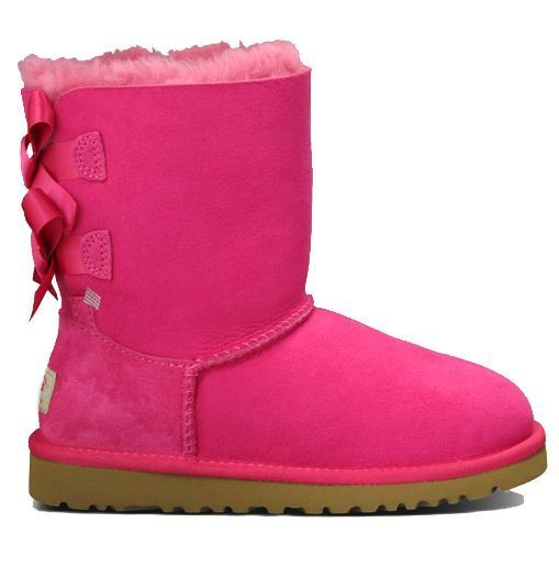 Ugg Boots for kids Bailey Bow Cerise Pink from Landau Store