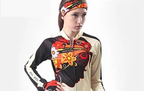 Cycling Set Breathable - Long Sleeve Women Cycling Set My Cycle Gear