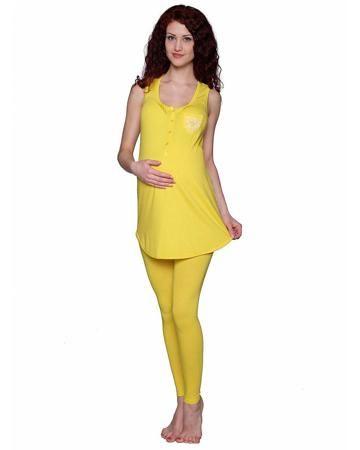 ФЭСТ для беременных и кормящих ярко-желтый  — 1529р. ----------- Комплект одежды для беременных и кормящих ярко-желтый ФЭСТ порадует высоким качеством ткани, а также милым дизайном. Отличный наряд для будущей мамы.