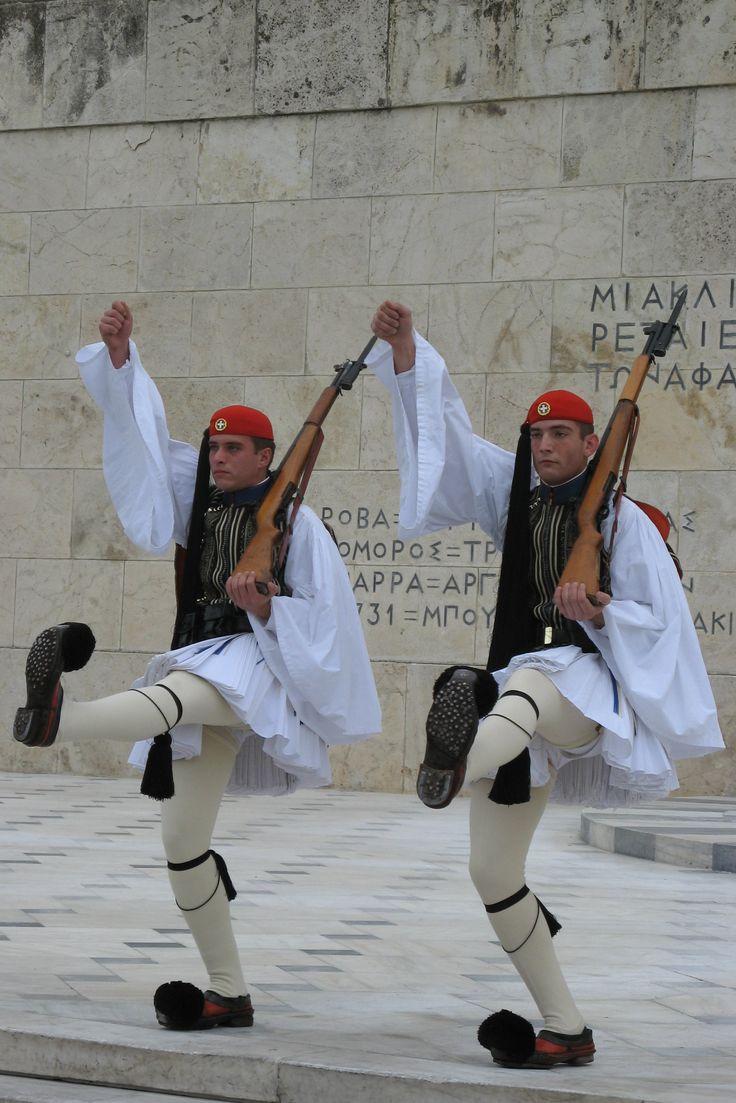 Evzones (Εύζωνες, Εύζωνοι) - Greek Presidential Guard (Προεδρική Φρουρά)