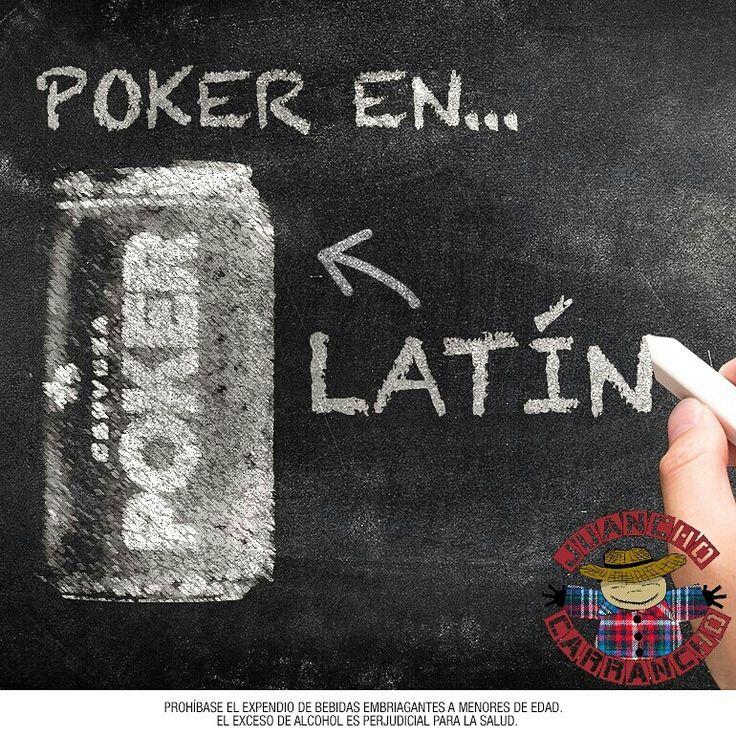 Poker en Latín por solo $1.800