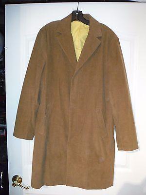 j crew men's top coat 3/4 overcoat corduroy classic medium