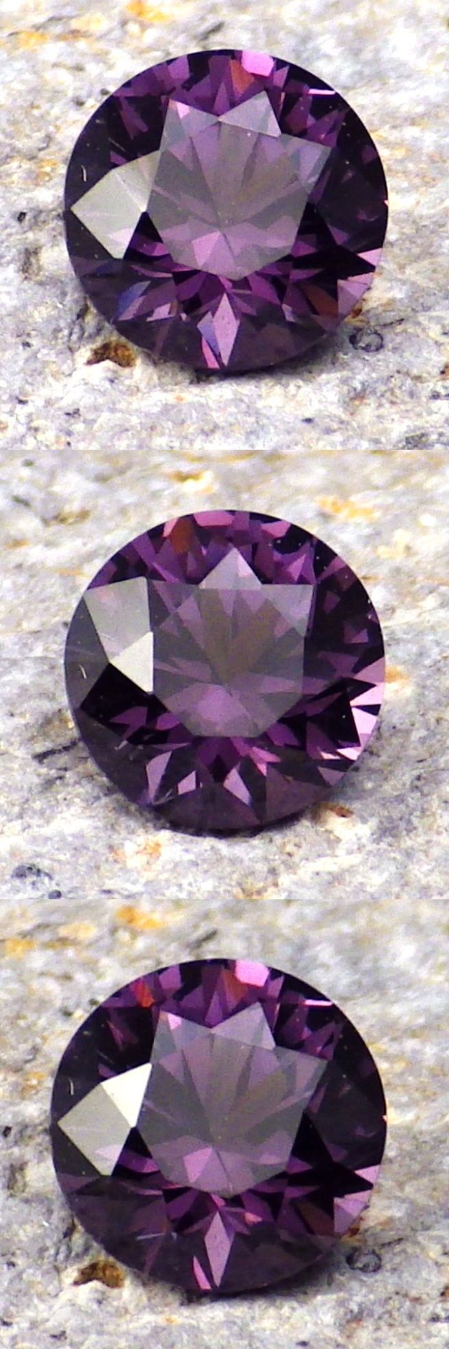 Spinel 110873: Spinel-Madagascar 1.02Ct Eye Clean-Purple Lavender Color-Calibrated! -> BUY IT NOW ONLY: $50 on eBay!