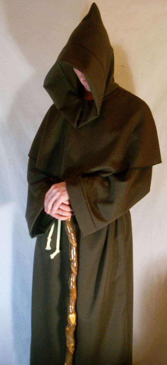 Hey, I found this really awesome Etsy listing at https://www.etsy.com/listing/160502619/monk-robe-gothic-halloween-fancy-dress