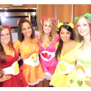 Care bear costumes!