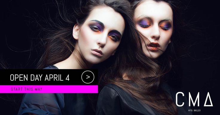 Golden chance for you to meet with our trainers and students at CMA. You can get answers to all of your questions on the open day held on Tuesday, April 4, 5 pm – 7 pm. Also, get 5-minute makeovers on this day. http://cmatraining.edu.au/student-info/open-day/ #makeupclass #makeupcourses #diplomaofphotography