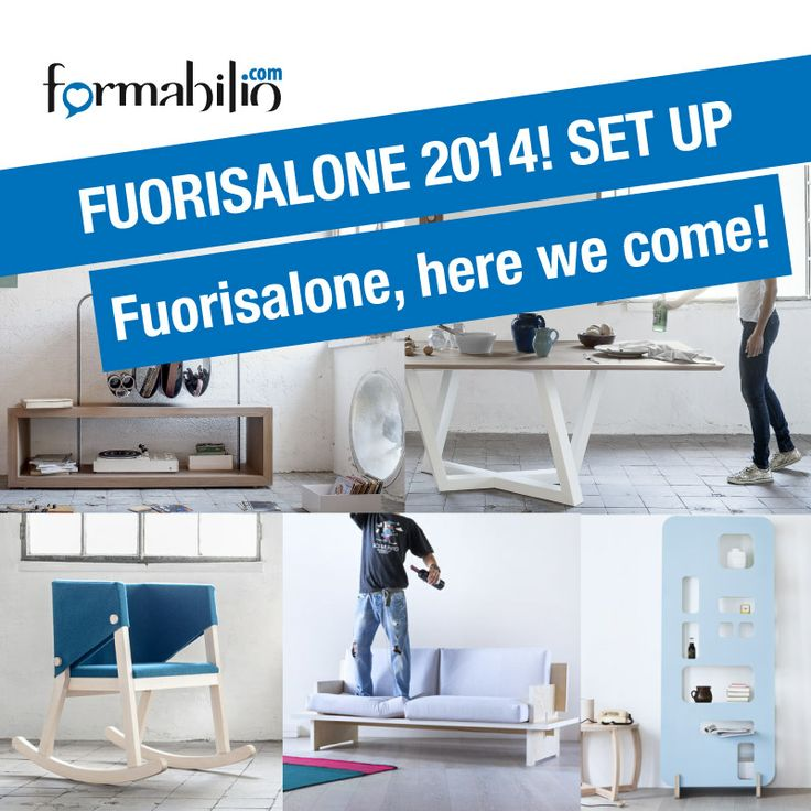 So, #SetupFormabilio winners are finally out: Tasca, Dedalo, Priscilla, Cinque and Ivetta are the products that will come with us to Milan. More info here: https://www.formabilio.com/fuorisalone-2014