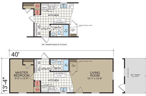 North Carolina Manufactured Home Floor Plans Dutch 9440