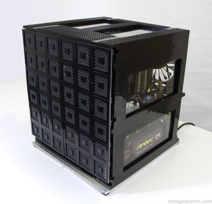 Mike S Computer Case Built With Lego Bricks