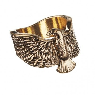 Gold Eagle Ring $7.99