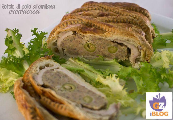 ROTOLO DI POLLO ALL'EMILIANA - ricetta secondo carne