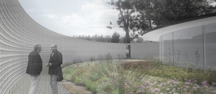 pawilon izby pamięci w Warszawie / memory pavilion in Warsaw / malinowski studio