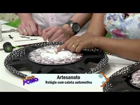 Cw Artesanato - Carlos Saad - Vida Melhor - Rede Vida - Relógio com Pátina Texturizada - YouTube