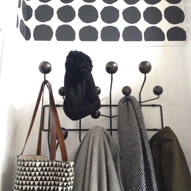 Via Romana | Marimekko Wallpaper | Eames Hang it All