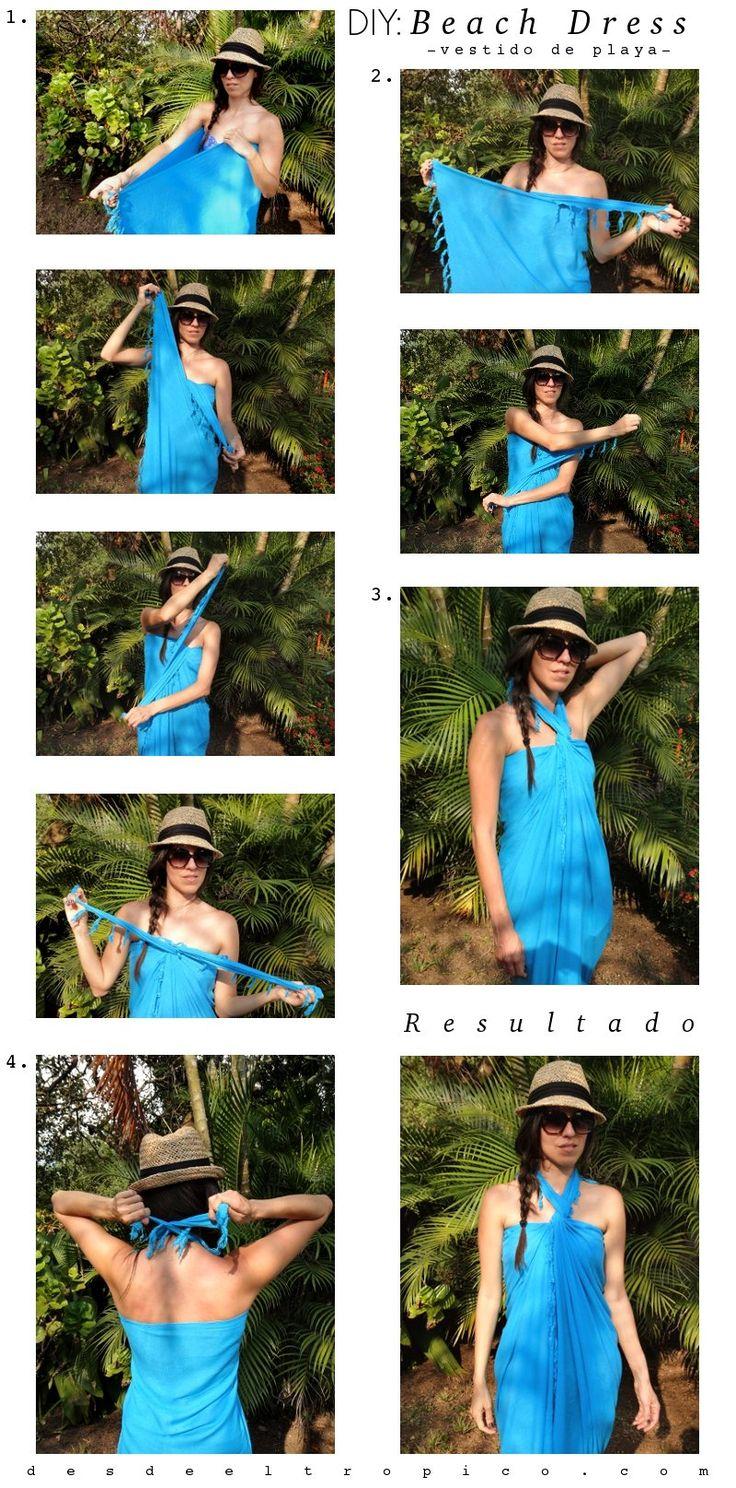 halter beach dress