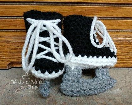 I've been wanting to share this infant ice skate booties crochet pattern for quite some now. These skate booties have been a BIG HIT and are my most requested product. I'm excited to share this free pattern with you and I can't wait to see how these skates will be paired with other crocheted attire. …