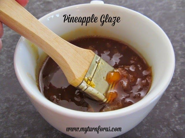 Pineapple Glaze - perfect for cooking on a ham