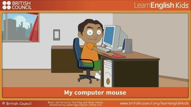 My computer mouse | LearnEnglish Kids | British Council