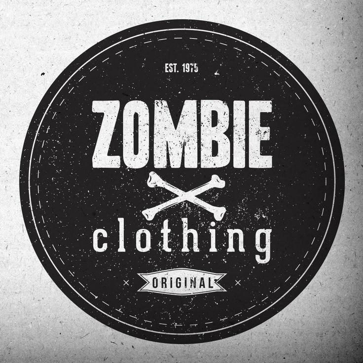 zombie clothing logo clothing design ideas - Clothing Design Ideas