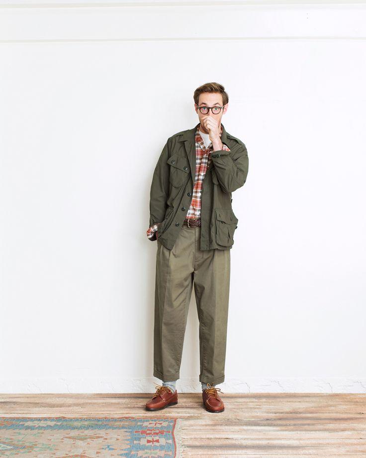 """1999年、""""永年に着られる飽きのこない本物の男服""""をコンセプトに、BEAMSが培ってきた経験を生かした""""アメリカがもっとも良かった頃のスタイル""""を提案するためにスタートしたオリジナルレーベル[BEAMS PLUS(ビームス プラス)]の2017年春夏コレクションが公開された。"""