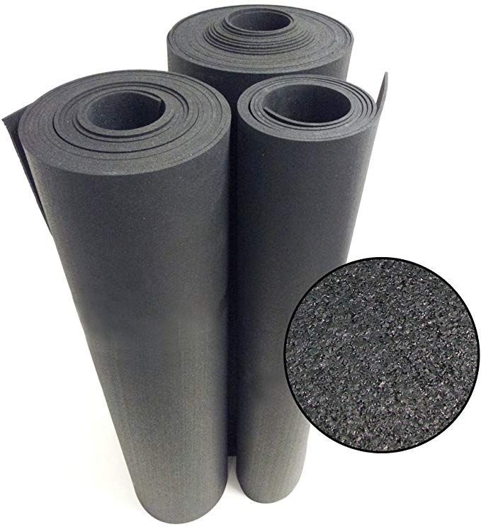 Amazon Com Rubber Cal Recycled Floor Mat Black 1 4 Inch X 4 X 3 Feet Sports Outdoors In 2020 Rubber Flooring Rubber Mat