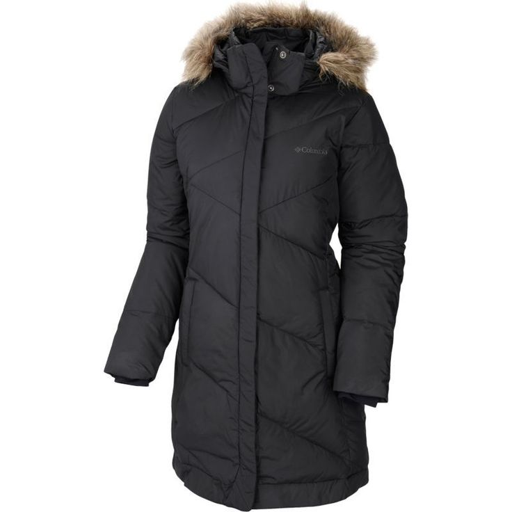 Columbia Women's Snow Eclipse Mid Insulated Jacket, Size: XL, Black