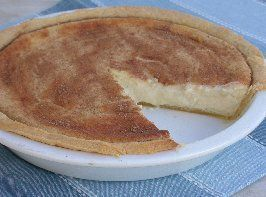 Traditional South African Milk Tart                              …