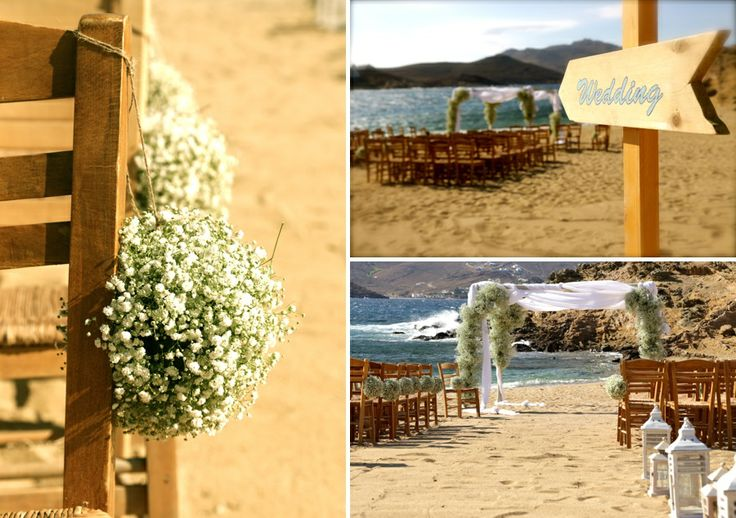 Natural Boho style decoration for a beach wedding @Alemagou