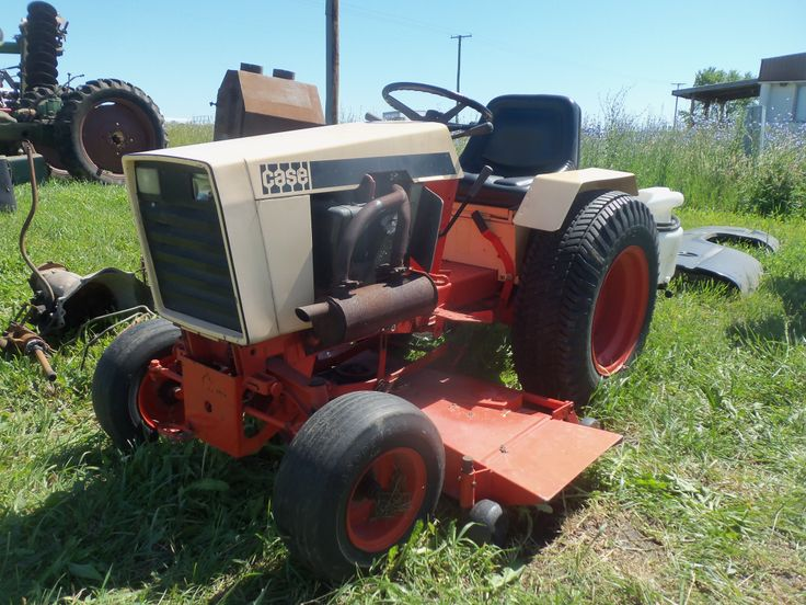 Case Lawn Mowers : Best images about ingersoll case garden tractors on