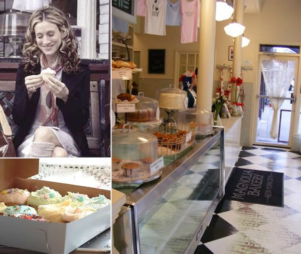 Magnolia Bakery New York.. must visit spot each time in in NYC.  The Banana Pudding is very, very, very good!!!