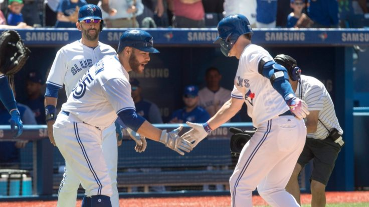 Nick Patch   Josh Donaldson and Troy Tulowitzki belted three-run homers while Marcus Stroman pitched seven strong innings as the Toronto Blue Jays beat the American League-leading Houston Astros 7-2 on Saturday. Stroman overcame early control issues to lead Toronto (41-46) before a sellout... - #3Run, #Baseball, #Belt, #CBC, #Donaldson, #Jays, #Shots, #Sports, #Tulowitzki, #Win, #World_News