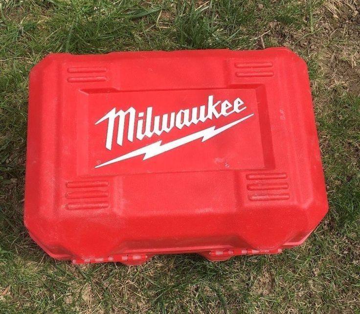 Milwaukee Hard Case Only Fits Circular Saw Kit 6390-21 #Milwaukee
