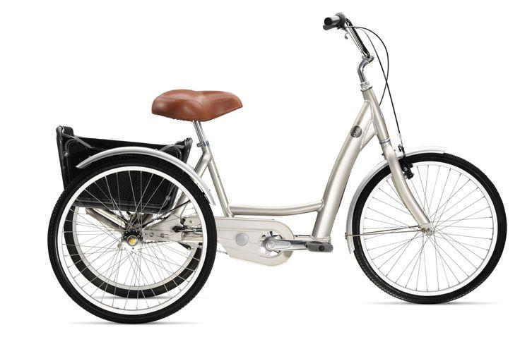 "Trek introduces crank forward ""adult"" tricycle My next ride :-)"