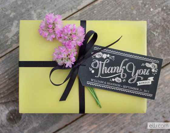 Free Printable Wedding Gift Tags: Printable Chalkboard Favor Gift Tags: You Could Also Just