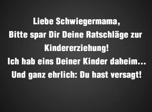 Liebe Schwiegermu.....