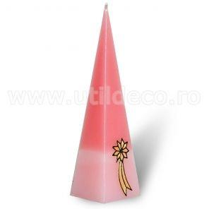 Lumanare tip piramida