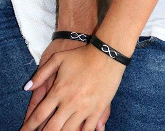 Couples Bracelets - His And Hers Bracelet - Matching Bracelets - Couples Gift - Jewelry For Couples - Anniversary Gift - Infinity Bracelet