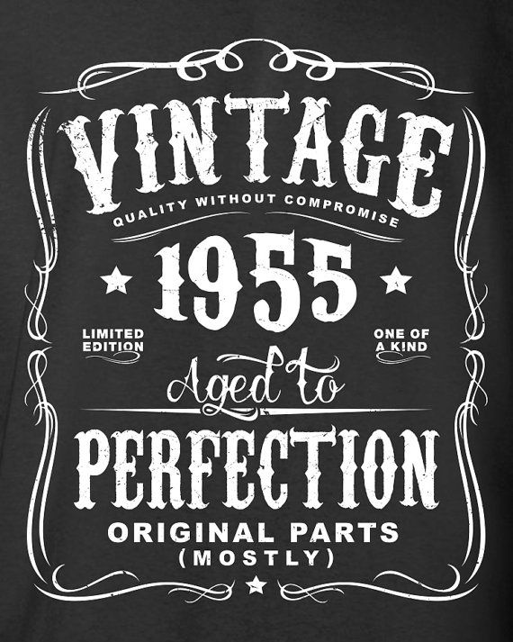60th Birthday Gift For Men and Women Vintage by SHIRTSnGIGGLES
