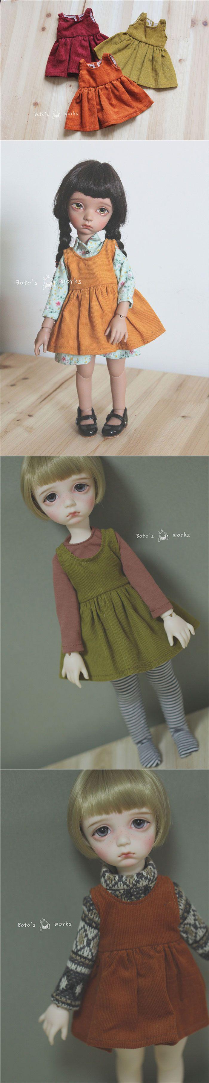 BJD Clothes 1/6 1/4 Girl Sundress for MSD/YSD Ball-jointed Doll_CLOTHING_Ball Jointed Dolls (BJD) company-Legenddoll
