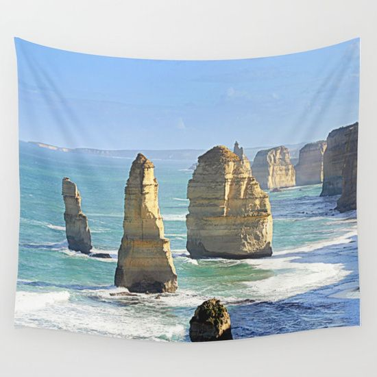 Earth's Evolution Wall Tapestry