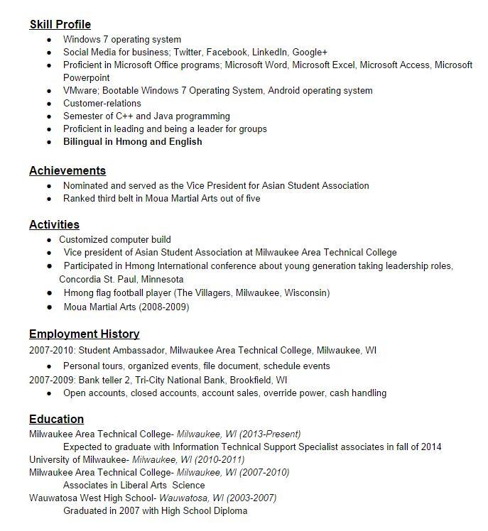 Best 25+ Resume Format For Freshers Ideas On Pinterest