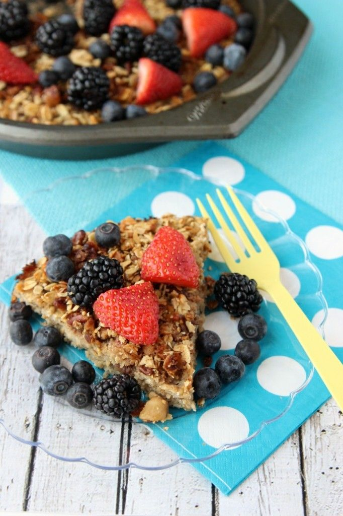 healthy baked oatmeal with fruit easy healthy fruit recipes
