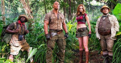 Kevin Hart and The Rock Share First Photo of Jumanji 2 Cast (PHOTO) | Gossip & Gab