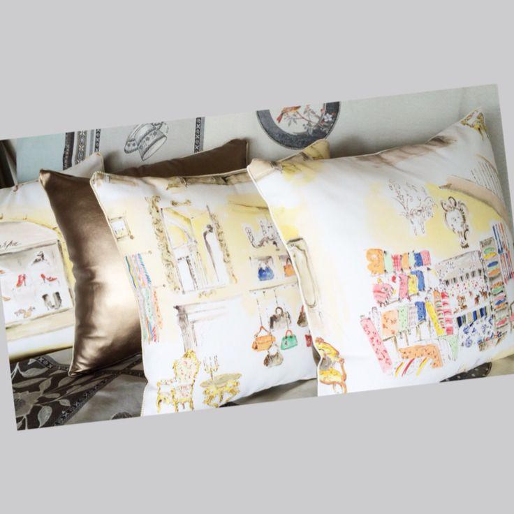 New. Paris  fabric